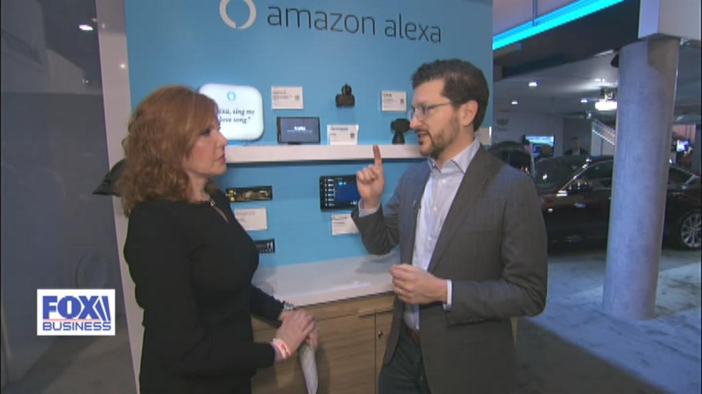FOX Business' Liz Claman talks to Amazon vice president of Smart Home and Alexa Mobile, Daniel Rausch, about the prevalence of Alexa in American households.
