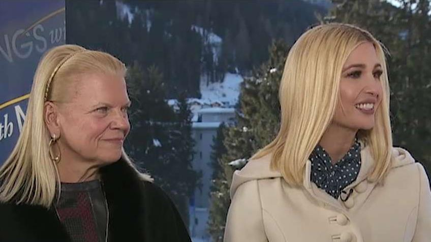 Ivanka Trump and IBM CEO Ginni Rometty, during an exclusive interview with FOXBusiness' Maria Bartiromo, discuss efforts to create more opportunities for American workers.