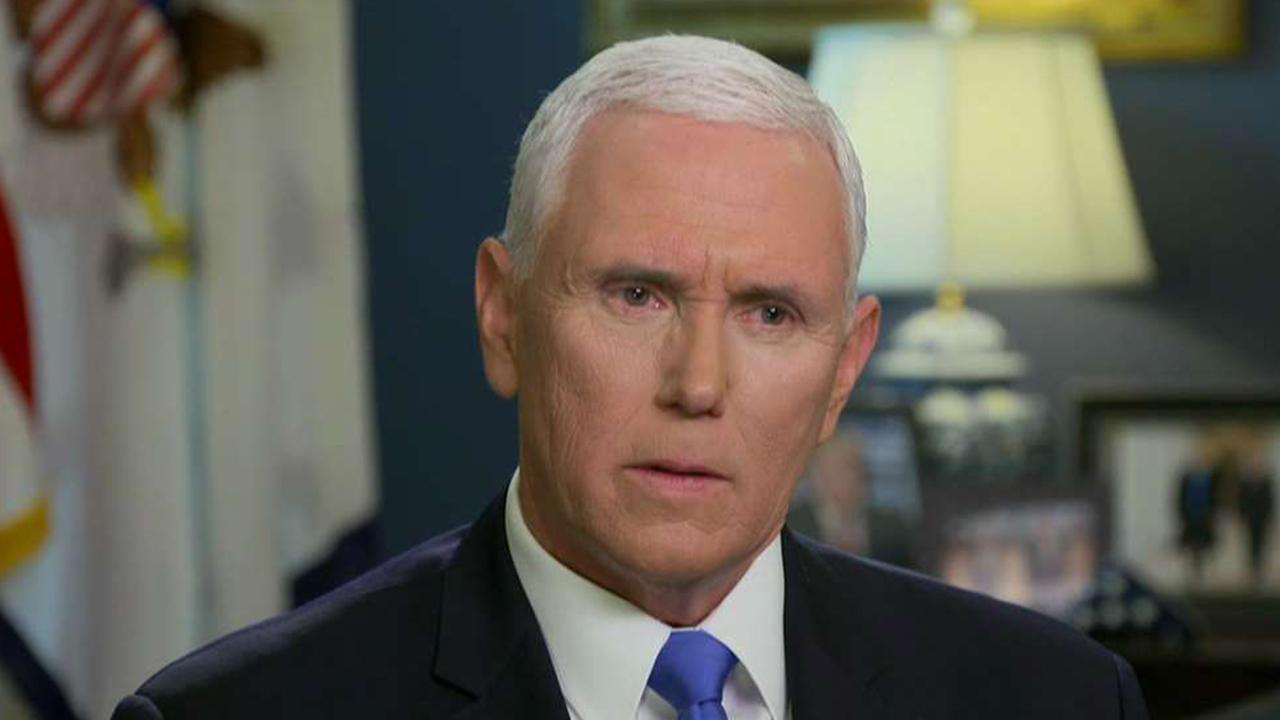 Vice President Mike Pence speaks on China trade, the U.S. economy and President Trump's leadership in an exclusive interview.