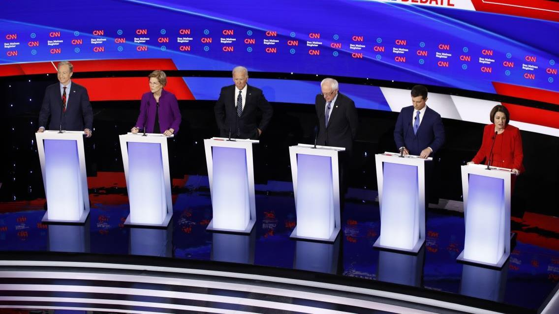 Rep. Debbie Dingell, (D-Mich.), discusses the CNN Democratic debate and the candidates not delving into economic issues.