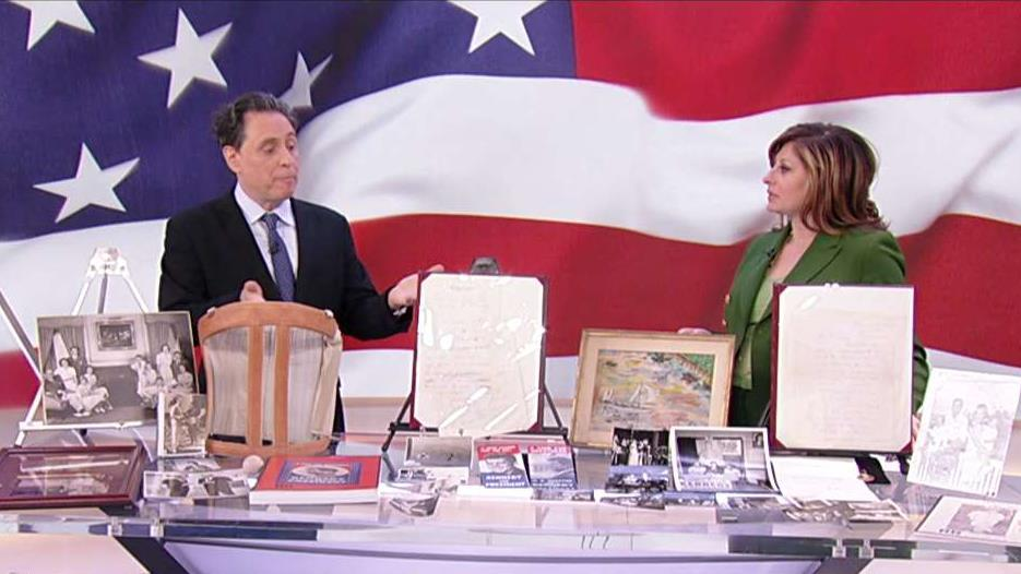 RR Auctions executive vice president Bobby Livingston discusses the line of President John F. Kennedy artifacts hitting the auction block.