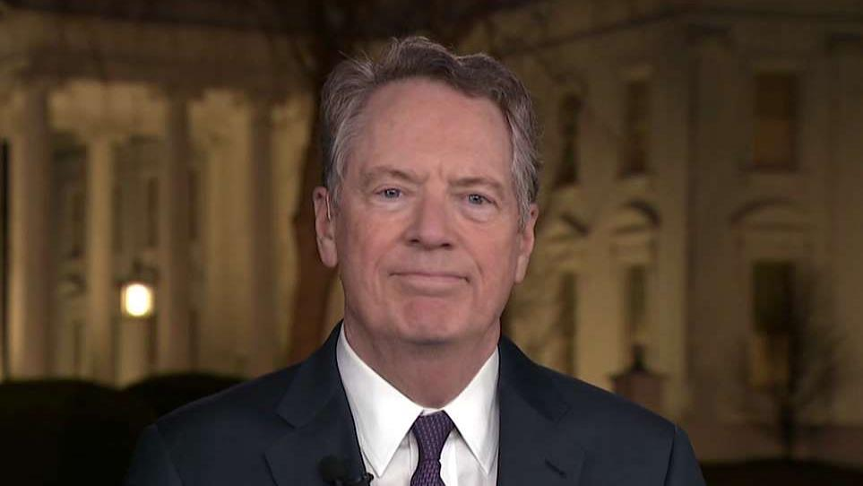 U.S. Trade Representative Robert Lighthizer discusses the components of a historic trade deal between the U.S.and China.