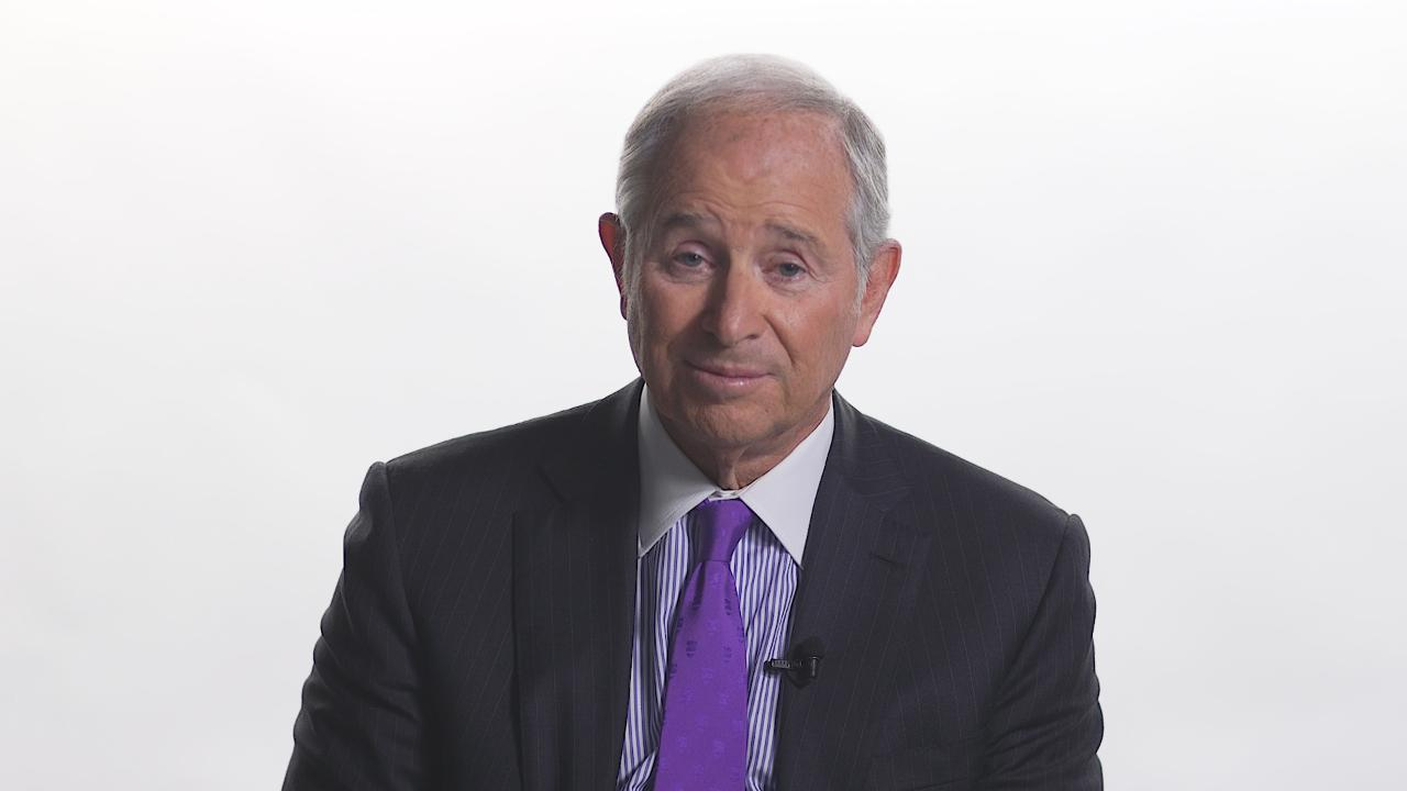 Blackstone Group CEO Stephen Schwarzman says he is 'optimistic' about the 'phase one' U.S.-China trade deal and points to platforms that both parties intend to follow.
