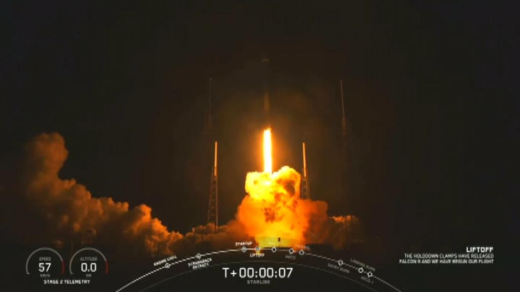 SpaceX launches 60 Starlink satellites into orbit Monday night from Cape Canaveral, Fla.