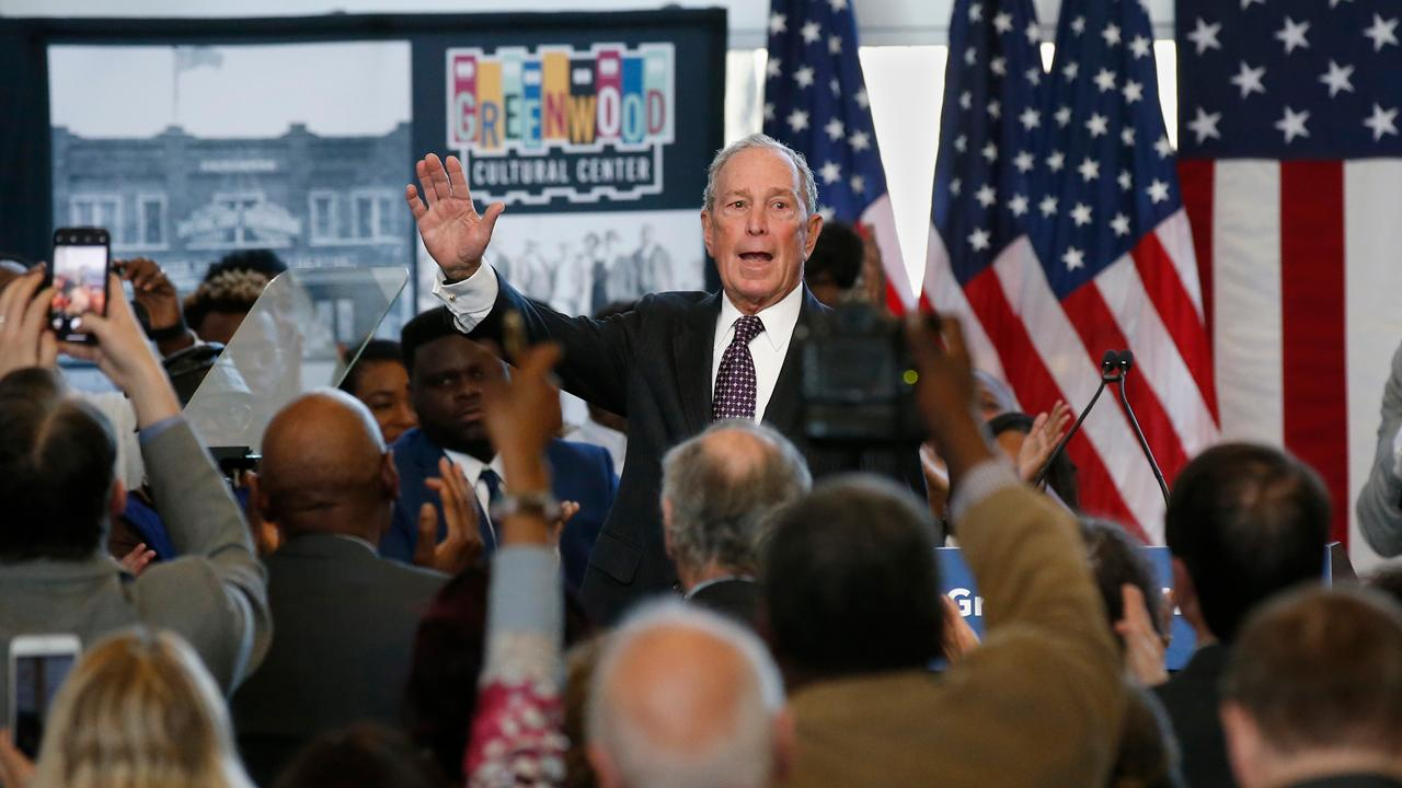 Former New York City Mayor and 2020 Democratic presidential candidate Michael Bloomberg is reportedly giving his campaign staff three catered meals a day, an iPhone 11, MacBook Pro and his state press secretary $10,000 per month.