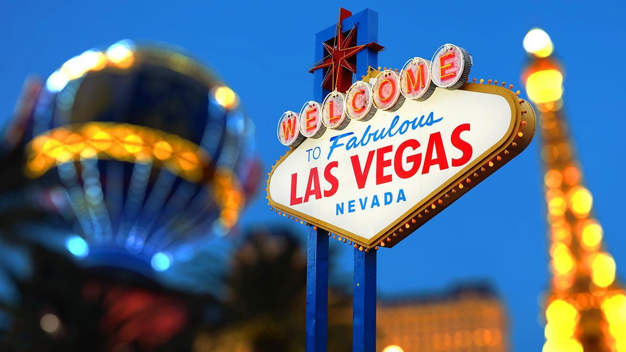 FOX Business' David Asman, FOX Business contributor Gary B. Smith, 2020 Democratic presidential candidate John Delaney, FoxNews.com columnist Liz Peek and 1 Empire Group founder and CEO John Burnett criticize Las Vegas's new slogan.