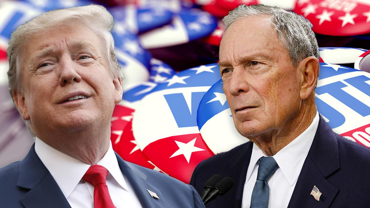 FOX Business' Edward Lawrence discusses Michigan presidential state polling that shows former New York City Mayor Michael Bloomberg beating President Trump.