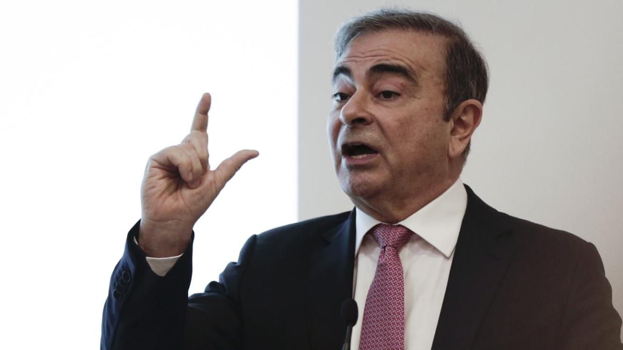 Former Nissan Chairman Carlos Ghosn discusses his flight from house arrest in Japan.