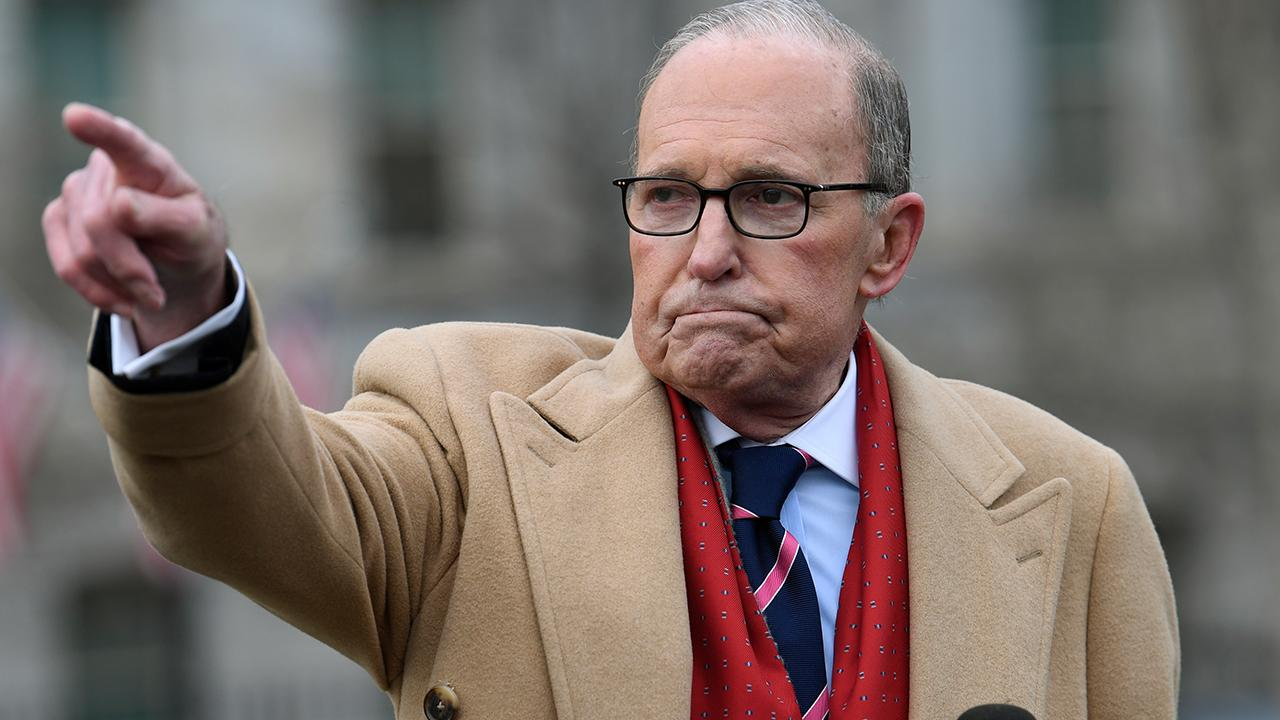 National Economic Council director Larry Kudlow discusses the Trump economy, global trade and his recent trip to Davos.