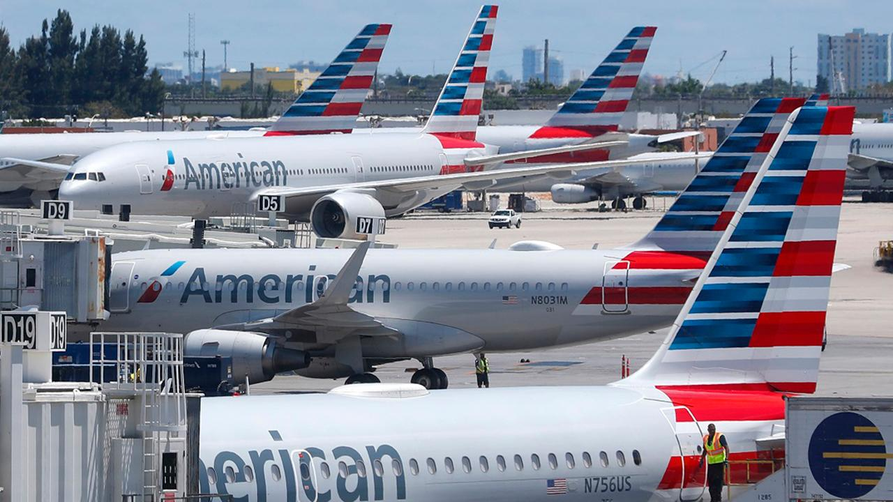 Fox Business Briefs: American in negotiations with Boeing over compensation  for the airline's grounded planes and expects to share some of the proceeds with employees; Lowe's is expected to hire more than 53,000 workers for the Spring months.