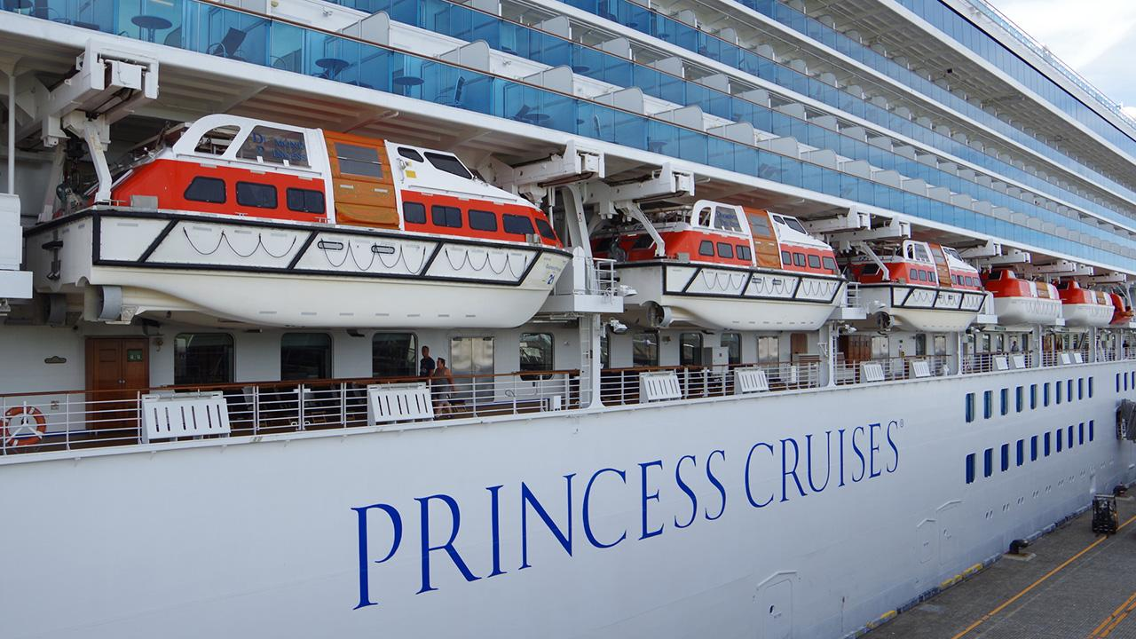 FOX Business' David Asman discusses a Princess Cruise ship that will embark on a 111-day world tour.