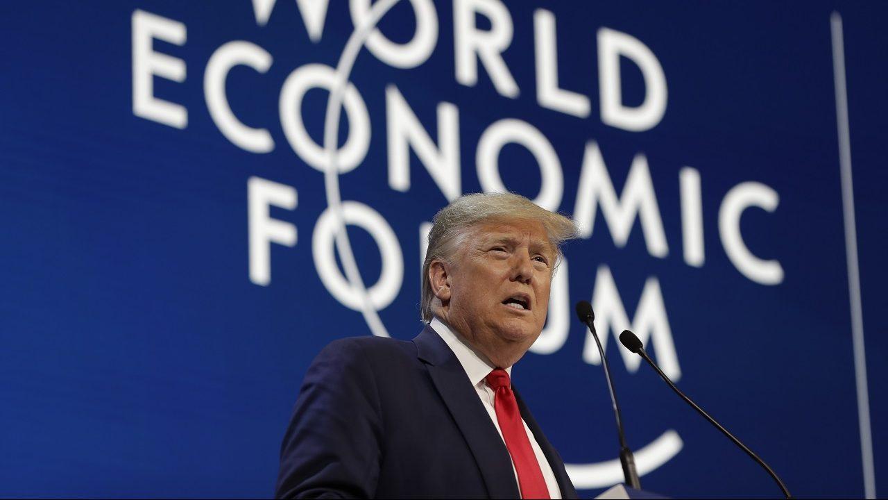 Trump took swipe at Democratic candidates, environmentalists at Davos: Report