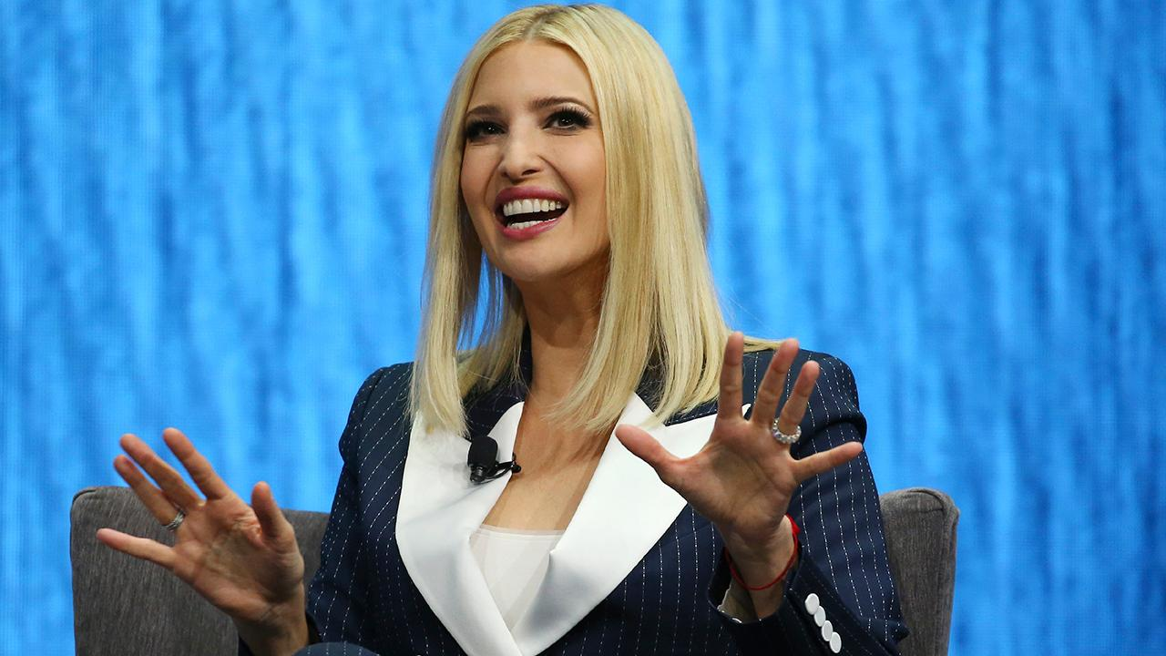 Adviser to the president Ivanka Trump spoke about America's future workforce during her keynote address at CES in Las Vegas, Nevada.
