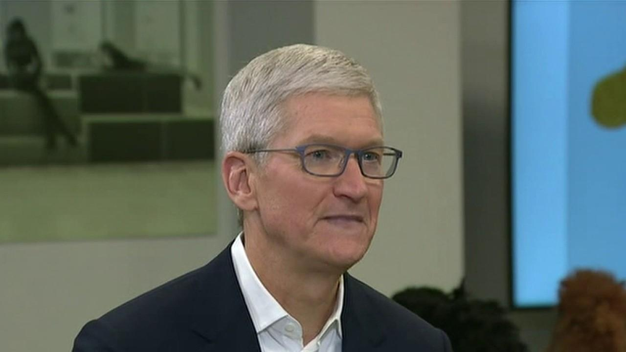 Apple CEO Tim Cook discusses coronavirus' impact on Apple and the evolving educational demands of jobs in America.