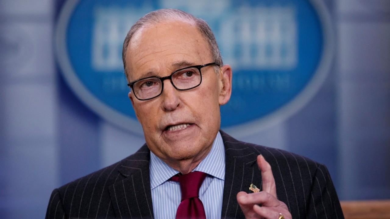 National Economic Council Director Larry Kudlow discusses the health risks associated with coronavirus and approvals of coronavirus drugs.