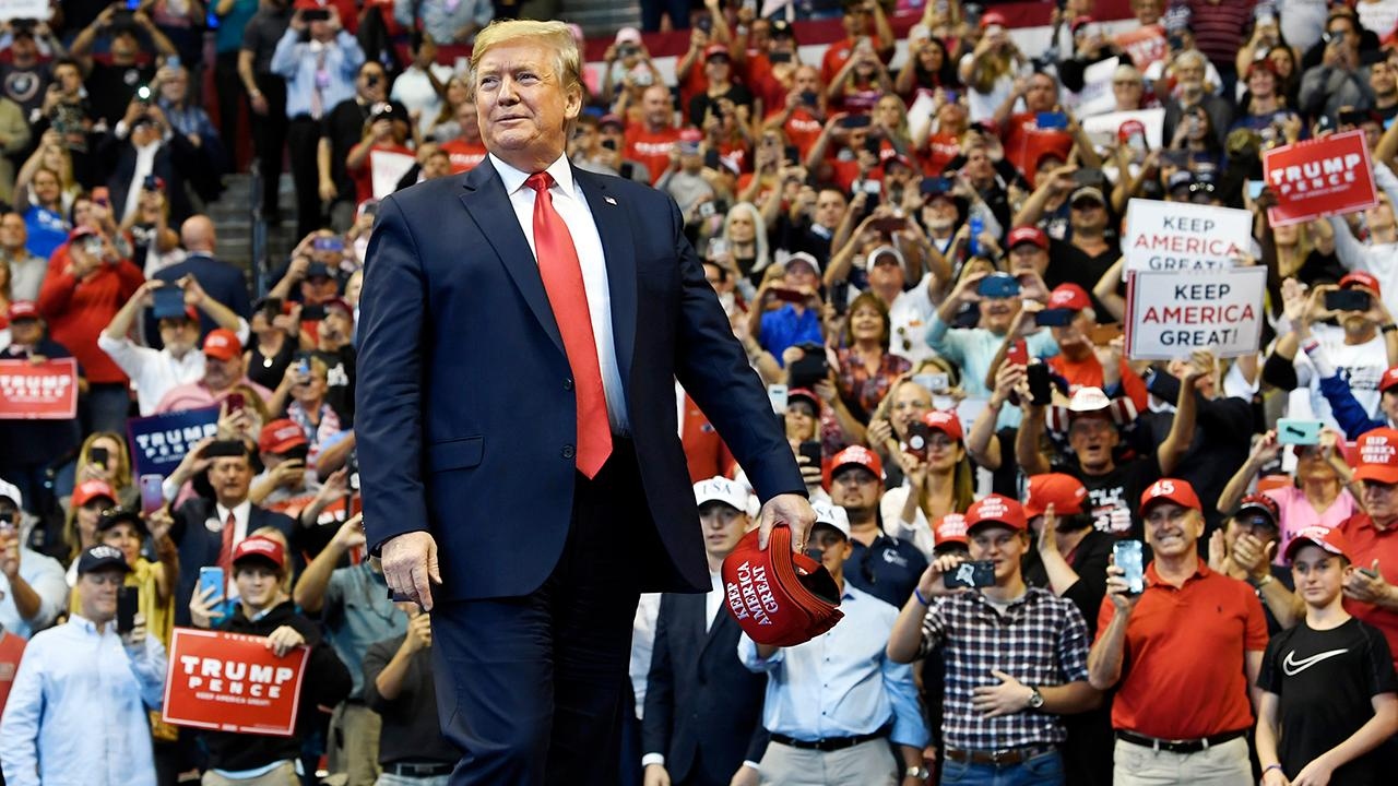 Wall Street editorial board member and Fox News contributor Bill McGurn says President Trump should move on from impeachment and instead focus on his economic accomplishments as a platform to succeed in the 2020 presidential election.
