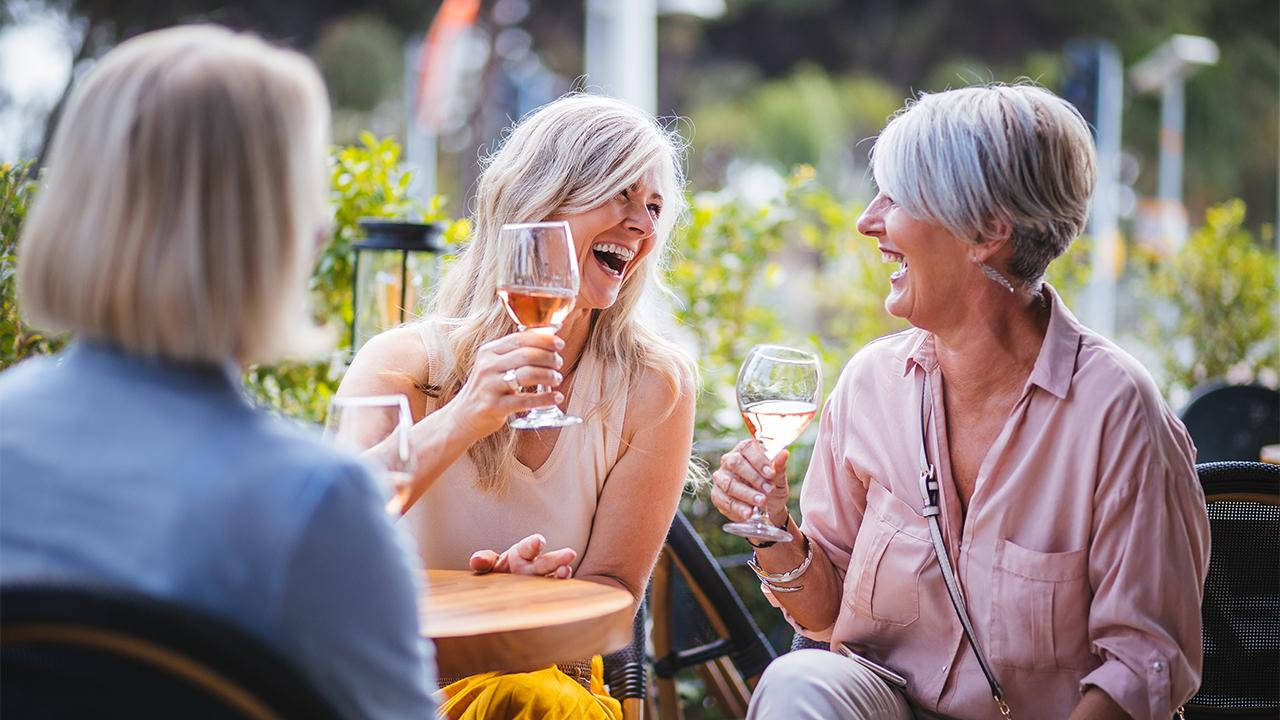 People over 55 are less stressed and happier than Millennials due to being closer to or in retirement.
