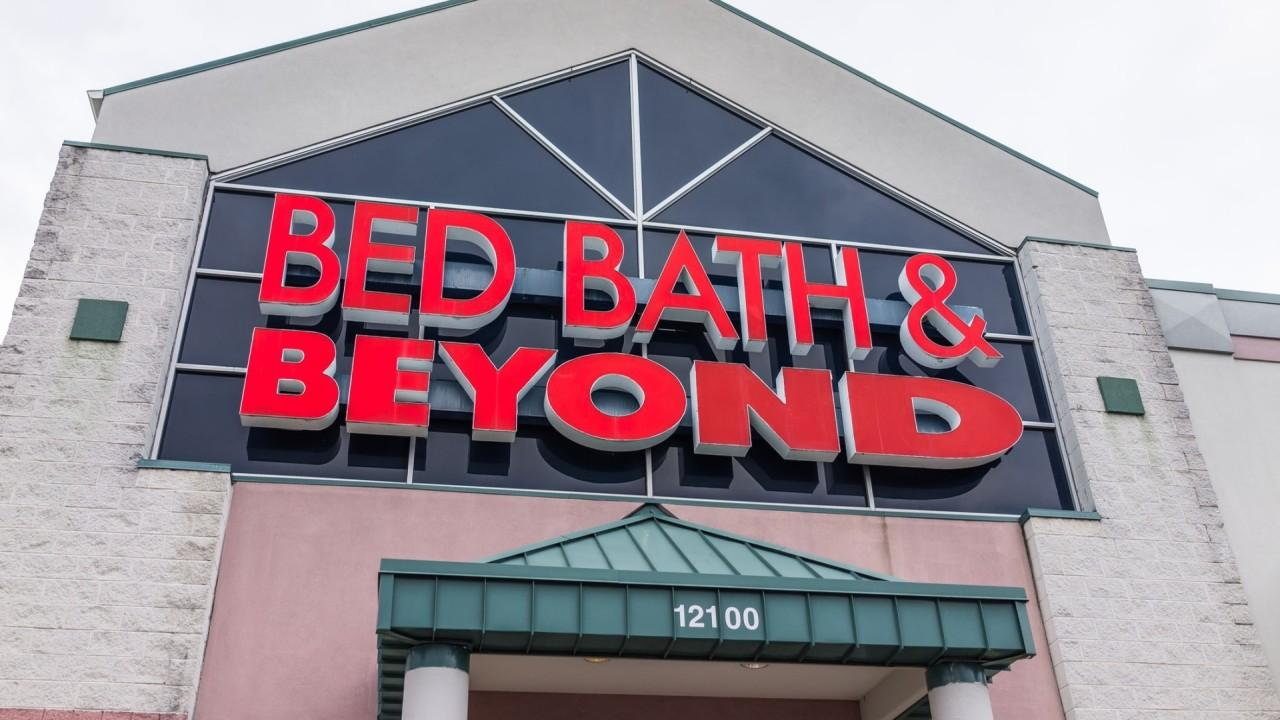 FOX Business' Ashley Webster reports on the new Bed Bath & Beyond CEO saying the company will spend $400 million on remodeling the stores to widen the aisles, lessen the number of items it carries.