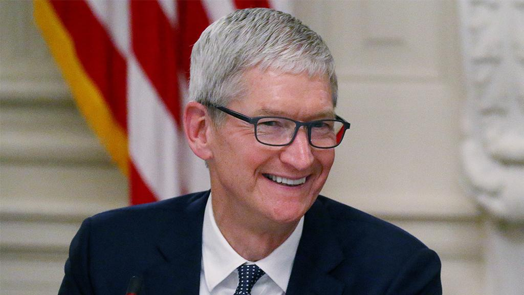 Apple CEO Tim Cook discusses his optimism towards China containing the coronavirus and how Apple is managing product supply and production.