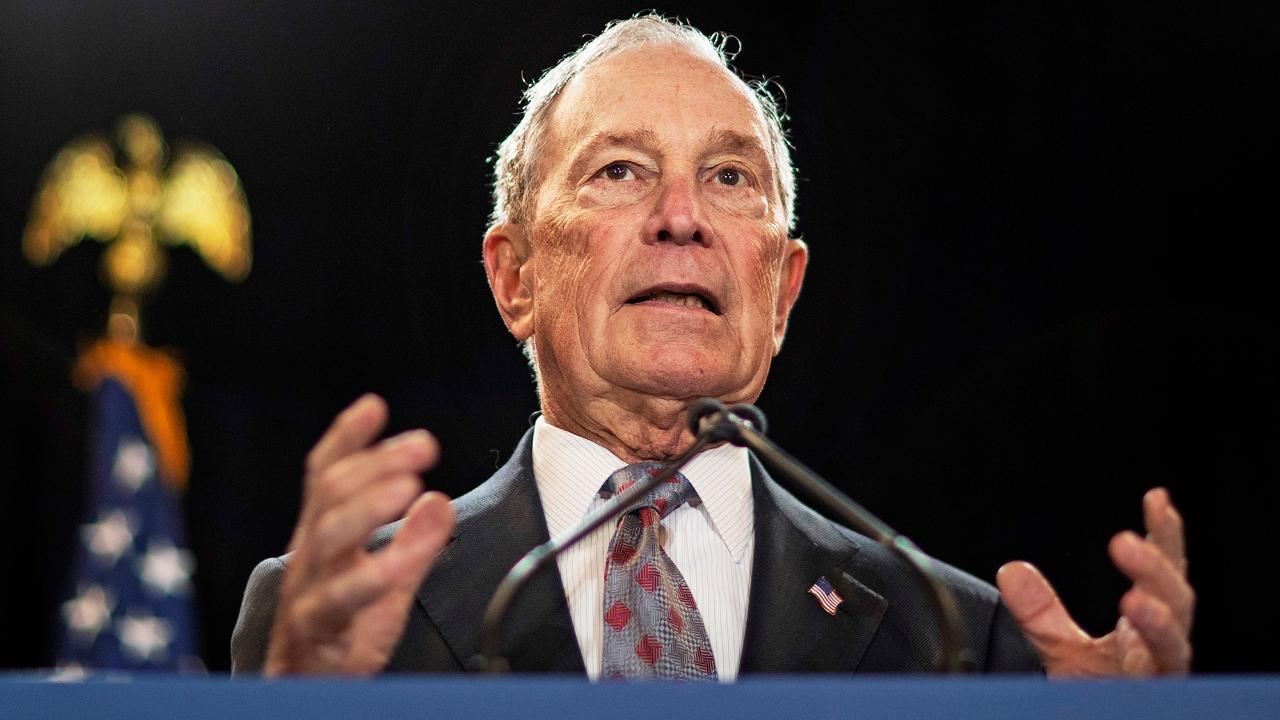 Former New York City mayor Michael Bloomberg's pollster Doug Schoen discusses Bloomberg's status in the presidential race.