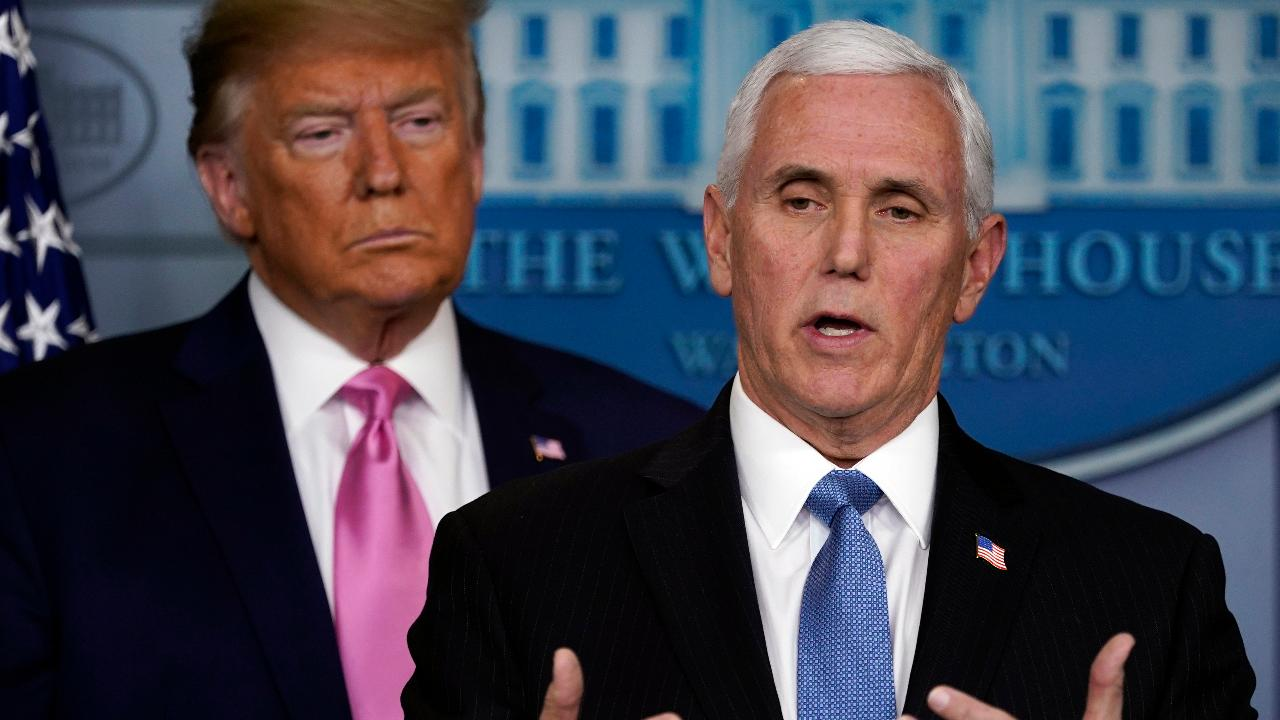 Vice President Mike Pence says the coronavirus task force has met on a daily basis to discuss ways to respond to the contagious disease.
