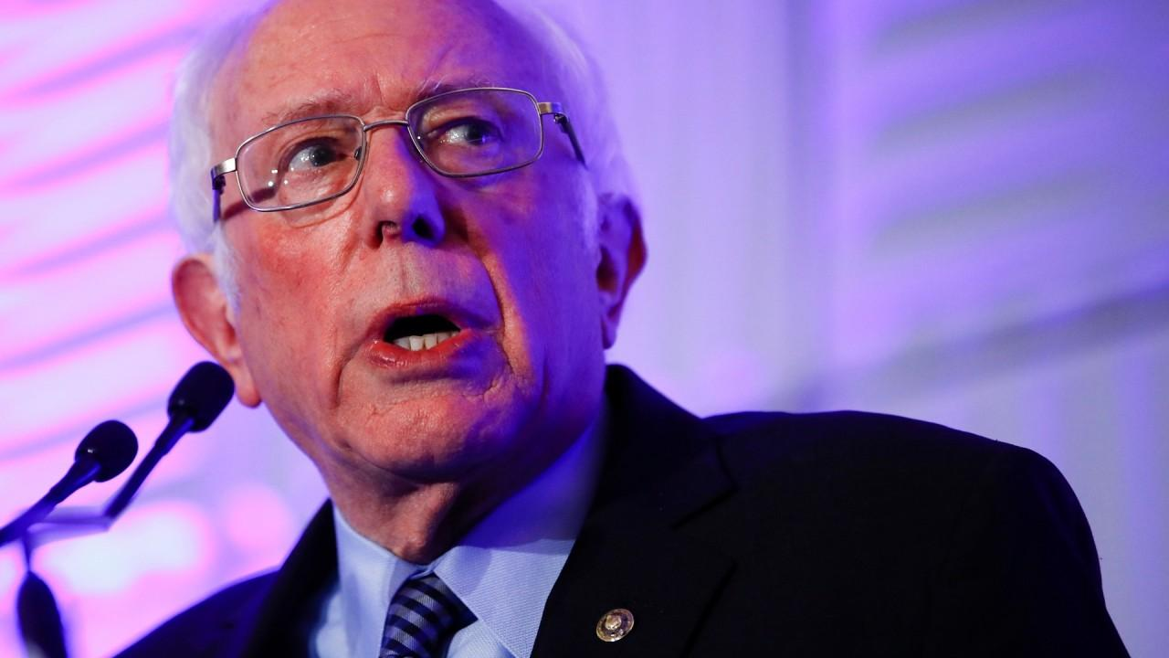 The Hill media reporter Joe Concha says he doesn't believe Sen. Bernie Sanders, I-Vt., has gotten the proper vetting he deserves because the Democrats have been too focused on attacking President Trump.