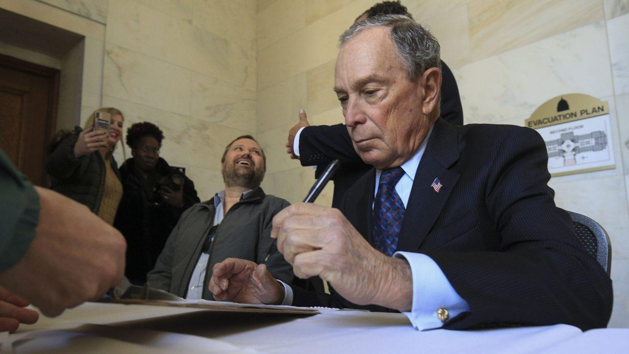 The Daily Caller's Stephanie Hamill and former Nevada state GOP chairperson Amy Tarkanian say the Democratic Party doesn't stand for former New York City Mayor Mike Bloomberg's campaign tactics.