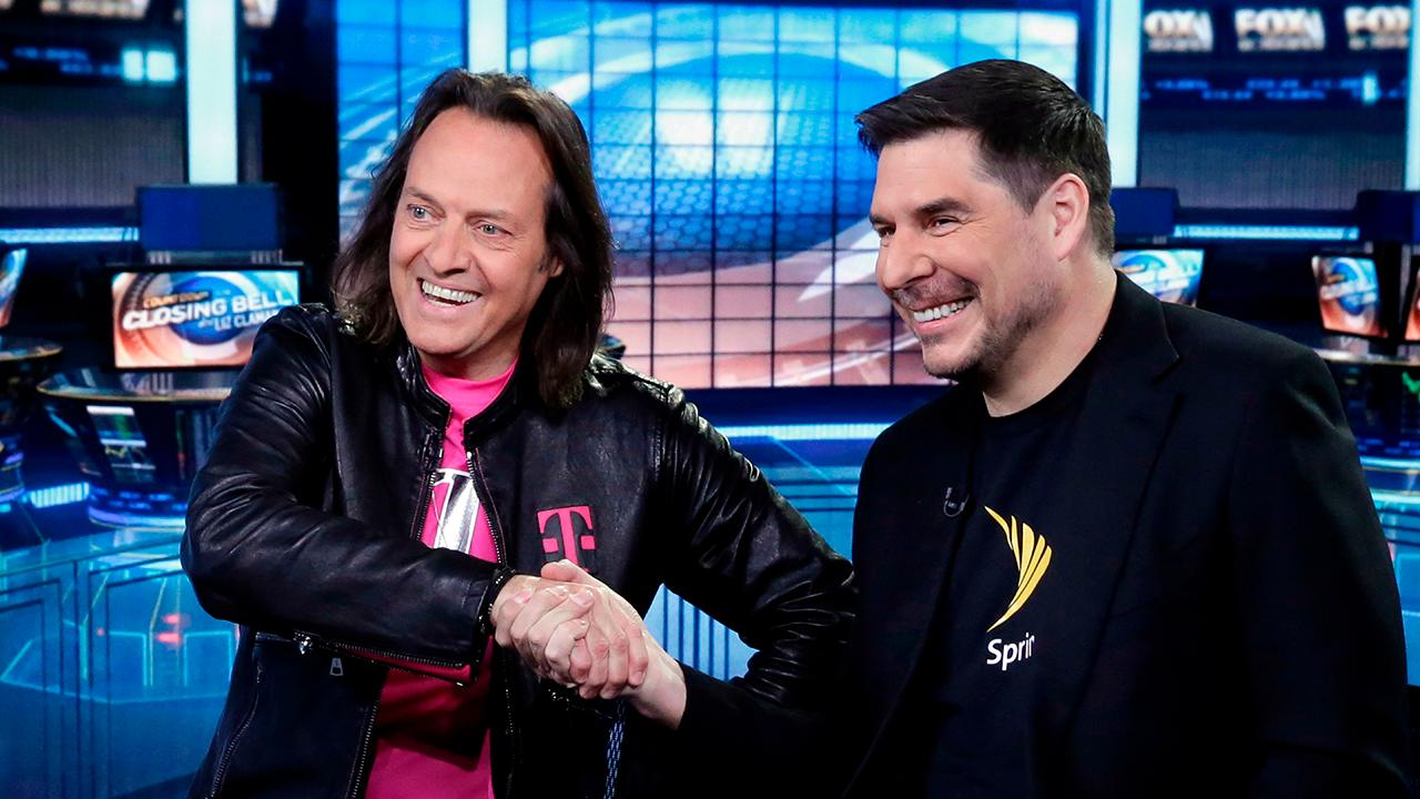 FOX Business' Charlie Gasparino explains why people within T-Mobile and Sprint are reportedly saying repricing is likely because of Sprint's deteriorating finances.