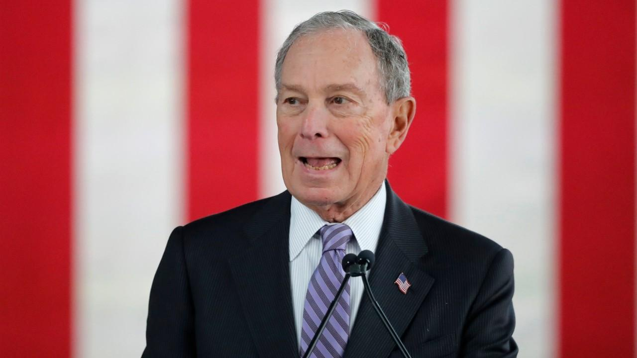 Point Bridge Capital CEO Hal Lambert discusses the Democratic fundraising efforts and the potential split that could arise in the Democratic Party if former New York City mayor Michael Bloomberg snags the Democratic nomination.