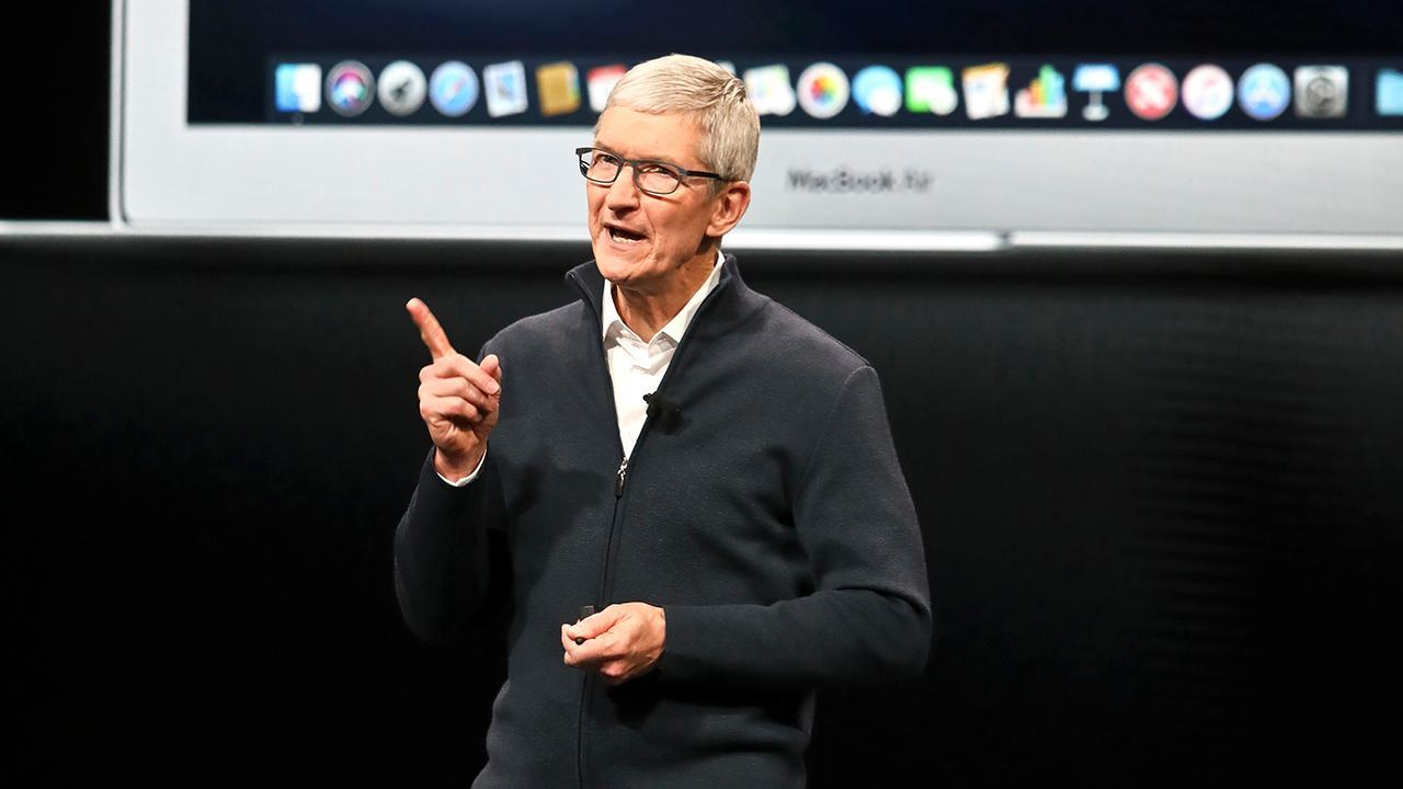 In an exclusive interview, Apple CEO Tim Cook discusses the importance of receiving a technology education and the company's concerted interest to bring manufacturing to the U.S.