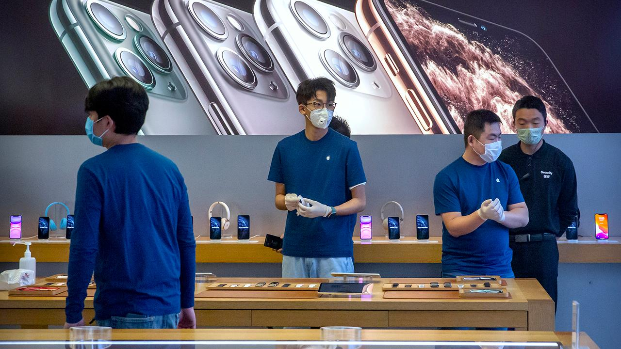 FOX Business Briefs: Apple is blaming the coronavirus outbreak for cutting its sales in the second quarter; Pier One Imports files for Chapter 11 bankruptcy protection.