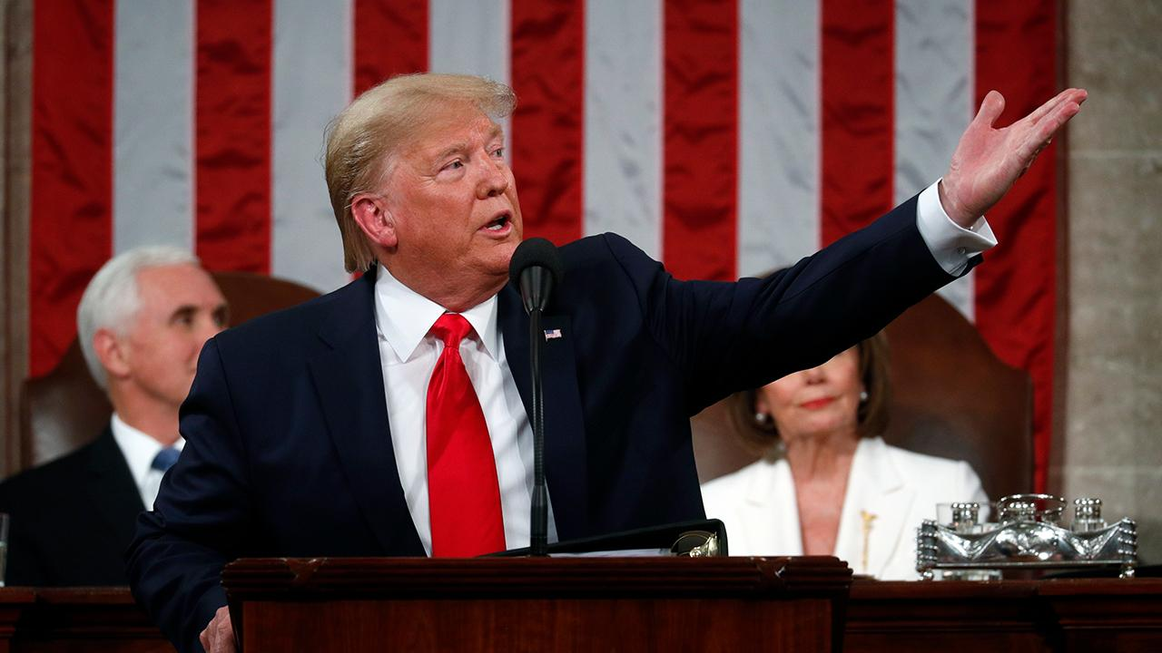 President Trump discusses school choice and urges Congress to pass the Education Freedom Scholarships and Opportunity Act while delivering his 2020 State of the Union.