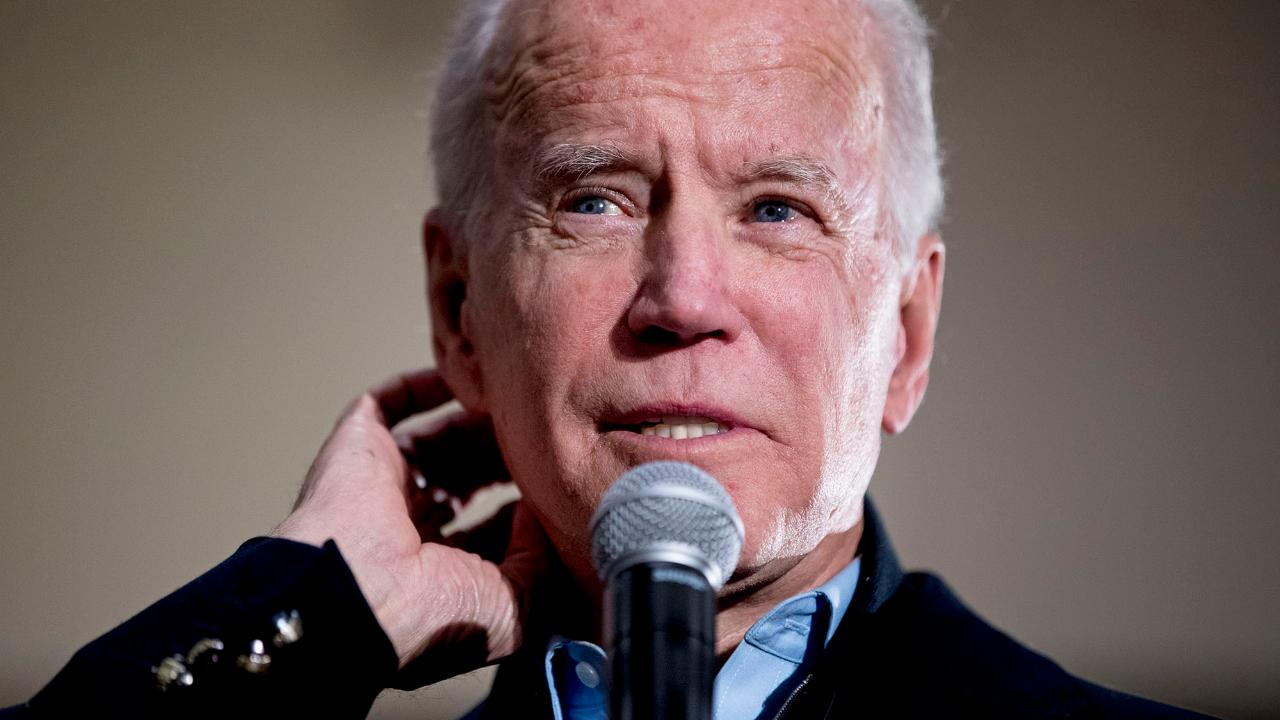 FOX Business' Charlie Gasparino reported Biden advisers believe his candidacy could fail if he does not lead in upcoming polls and Wall Street advisers say it's critical Bloomberg doesn't appear as 'out of his league.'