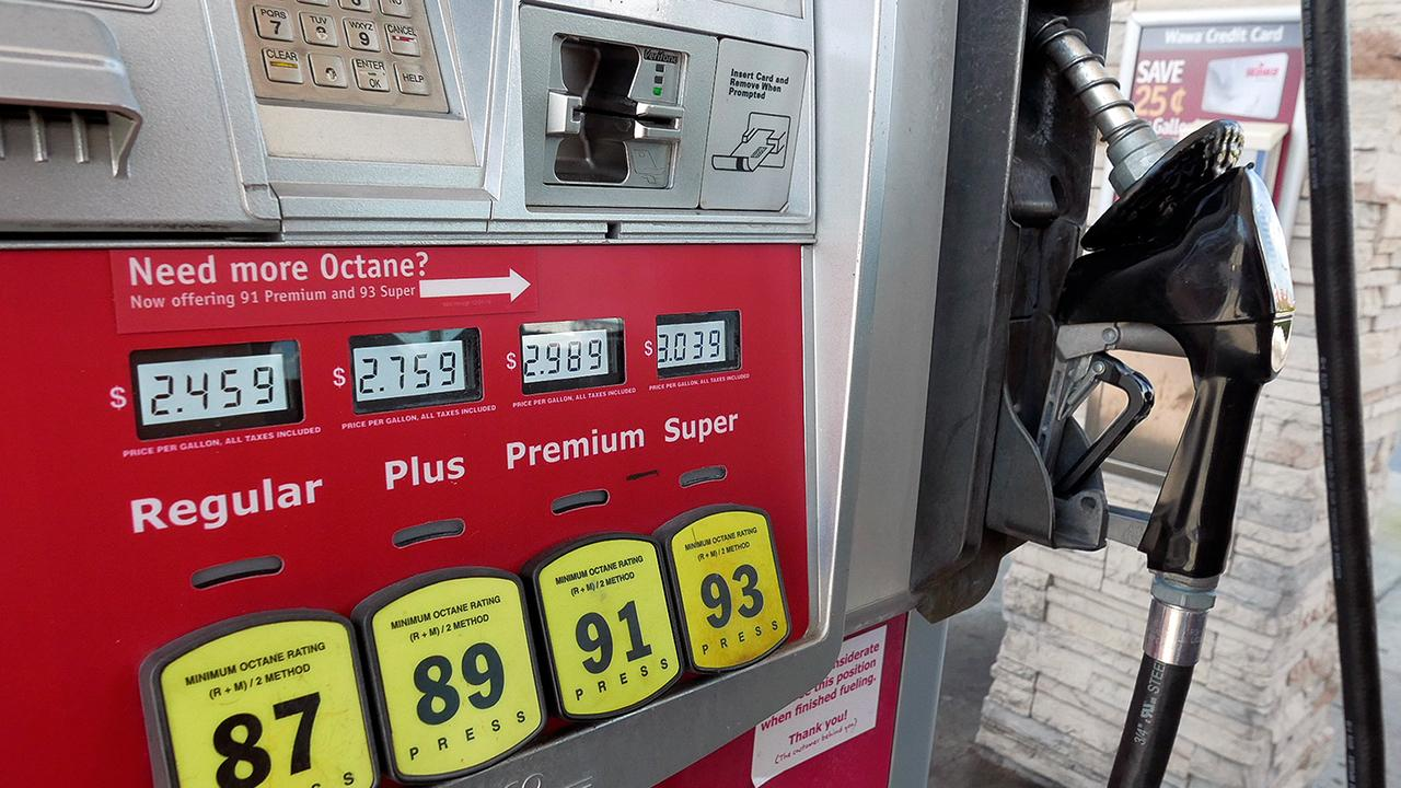 FOX Business' Grady Trimble on the price of gas and a proposal to ban drivers from pumping their own gas in Illinois.
