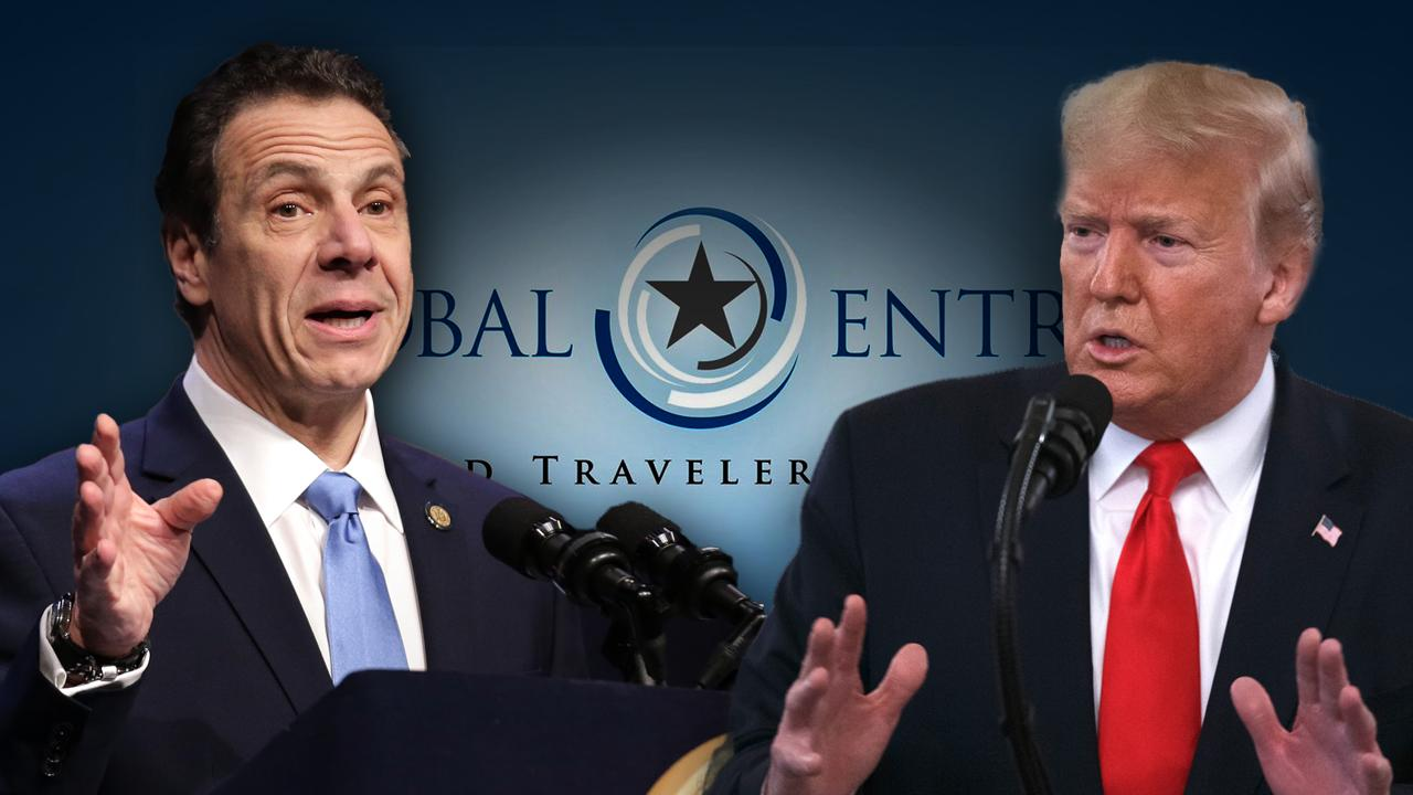 Acting Department of Homeland Security Secretary Chad Wolf, who attended the Trump-Cuomo meeting on the Global Entry ban, says the meeting was 'productive' despite not coming to a solution.