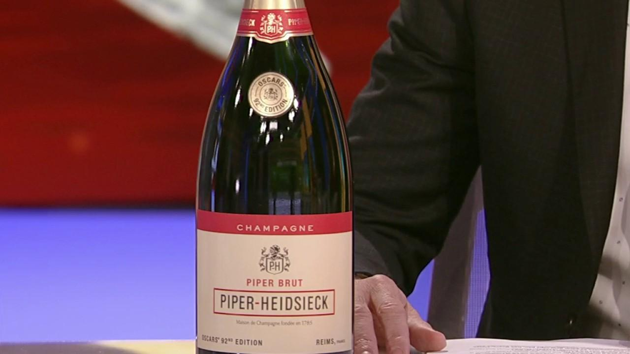 Piper-Heidsieck brand ambassador Michael Green reveals the special 92nd Oscars edition Piper-Heidsieck magnum champagne, which is set to be served during the ceremony.
