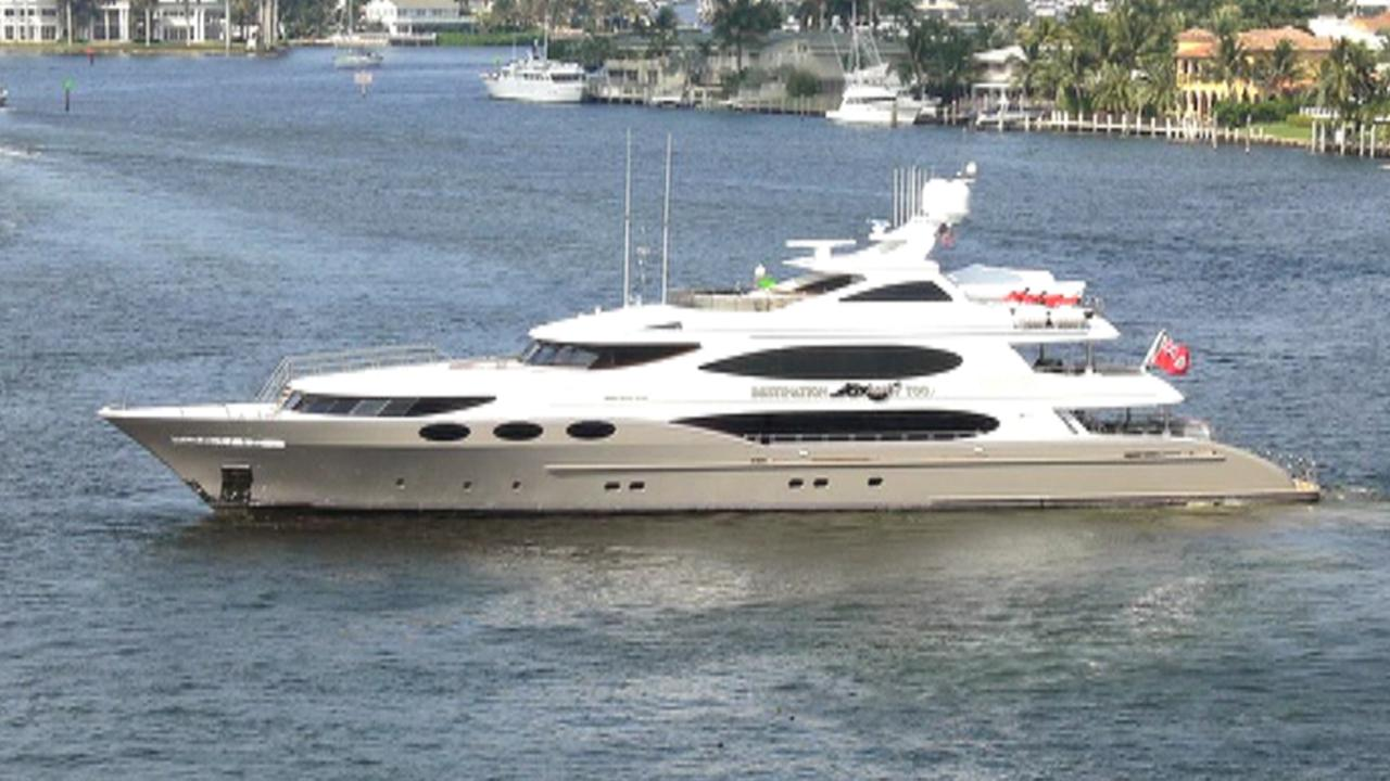 FOX Business' Cheryl Casone says 'bigger seems to be better' at this year's Miami Yacht Show.