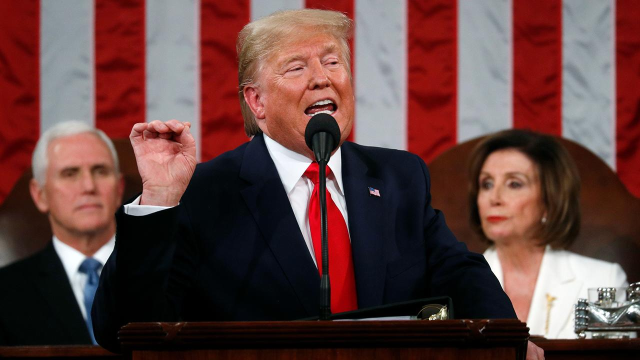 President Trump touts economic and employment successes while delivering his 2020 State of the Union.