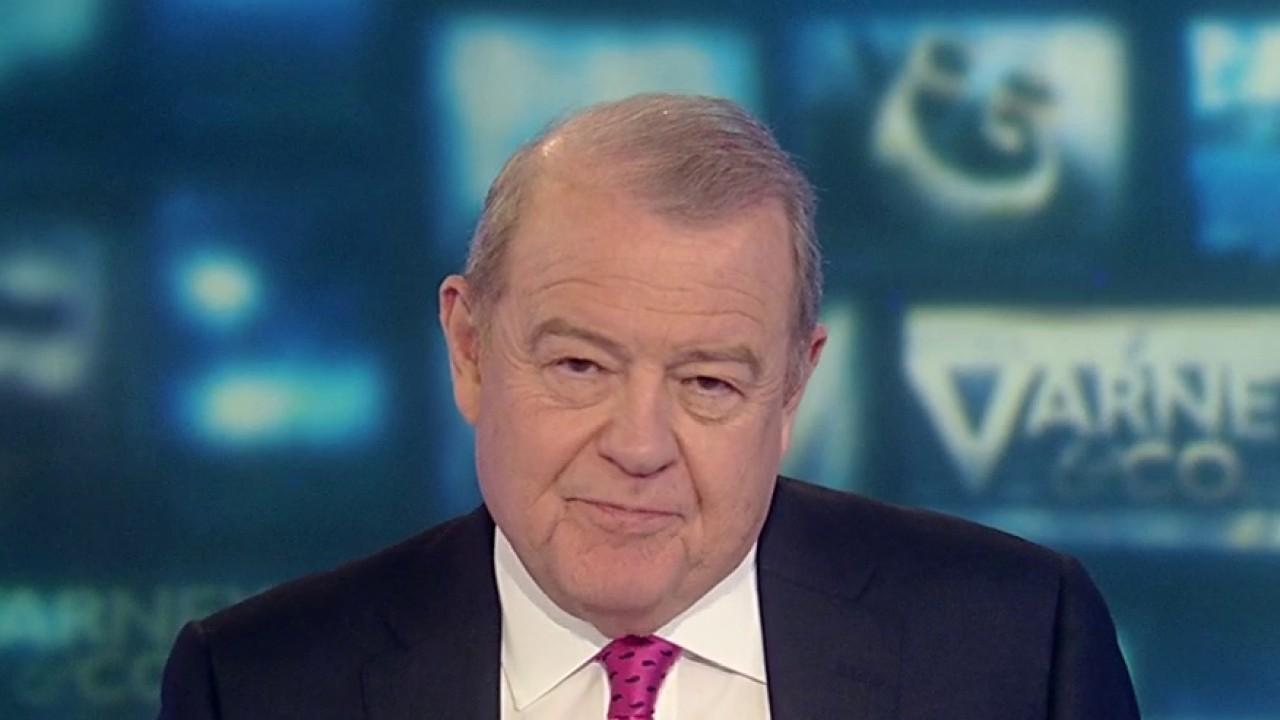 FOX Business' Stuart Varney on President Trump stealing the Democrats' spotlight ahead of the Nevada caucus.