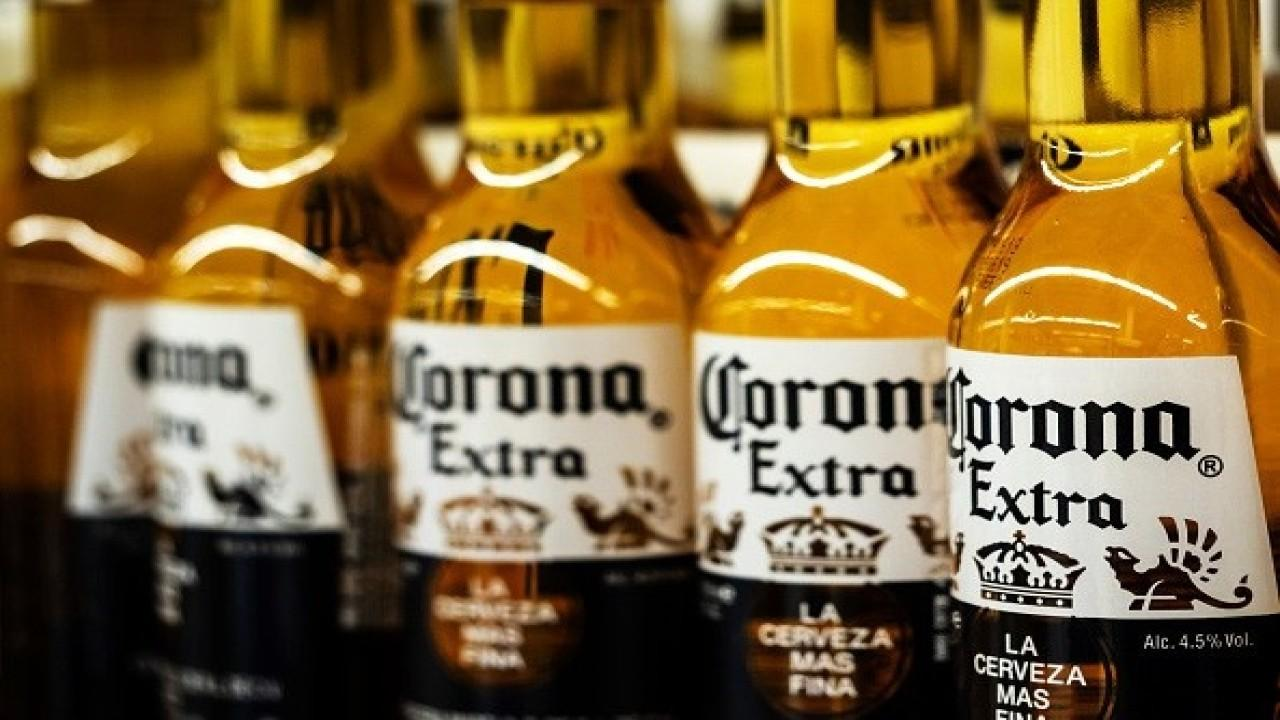 A survey revealed 38 percent of people would not buy corona beer due to the coronavirus and many who choose to splurge would not do so in public. FOX Business' Tracee Carrasco with more.