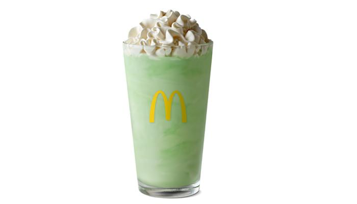 McDonald's has officially brought back its fan-favorite Shamrock Shake and is releasing a new addition to the season, the Mint McFlurry.