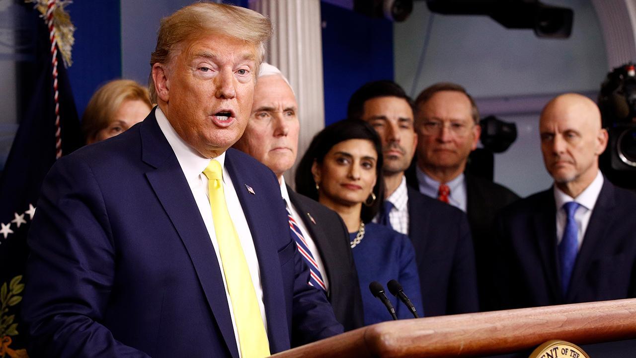 President Trump says 'major,' 'dramatic' economic measures will be taken to mitigate the coronavirus' economic effect.