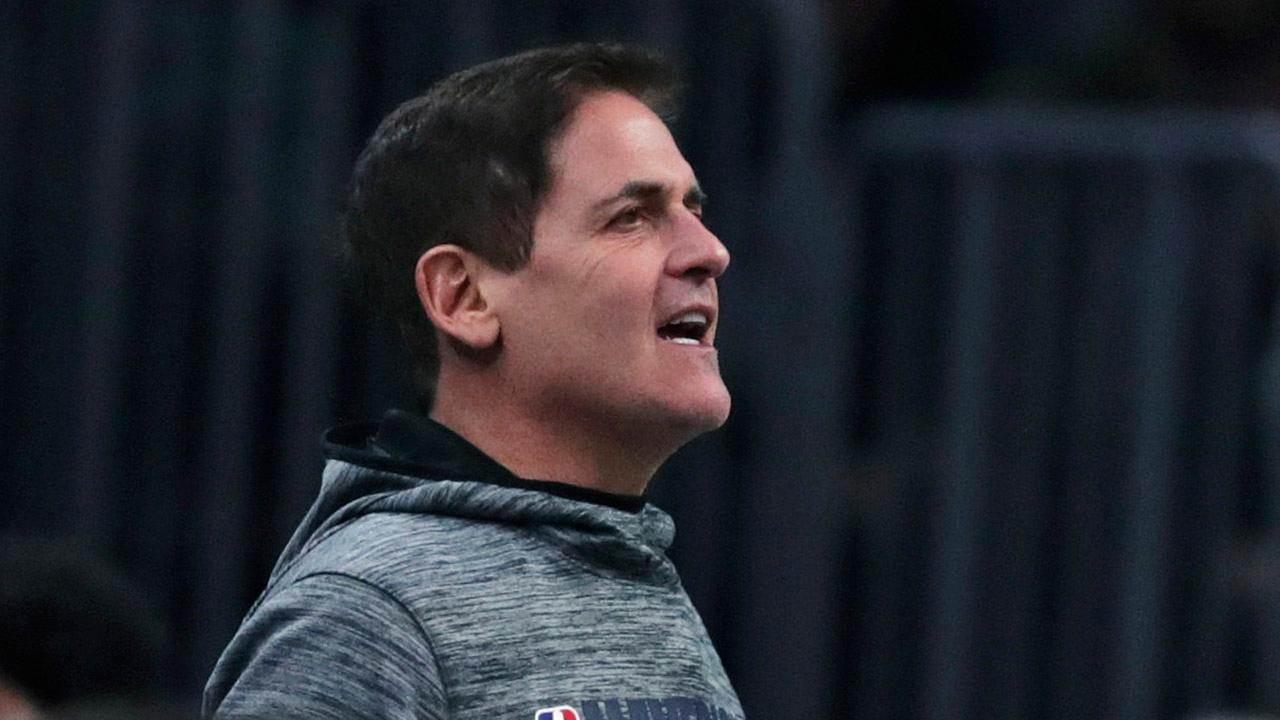 Dallas Mavericks owner Mark Cuban argues President Trump should call out medical mask manufacturer 3M for not producing the number of masks needed during the coronavirus outbreak.