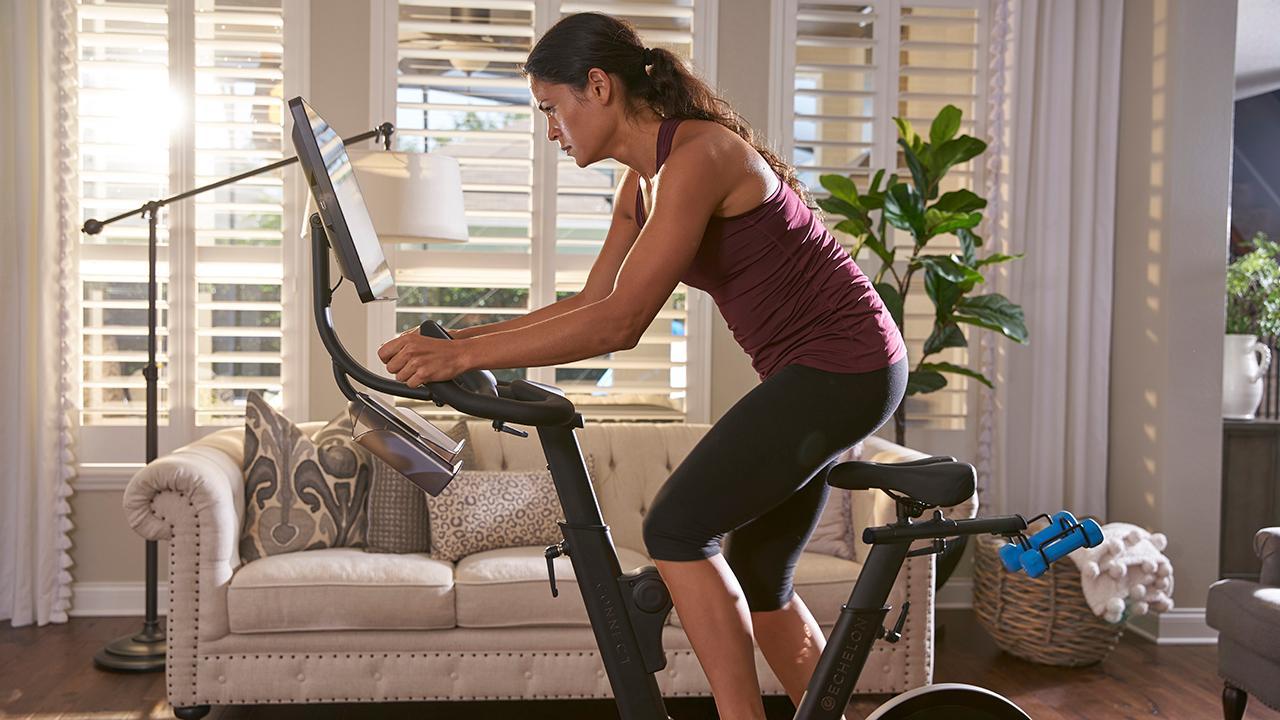 Echelon Fitness CEO Lou Lentine on how coronavirus quarantines are helping his home exercise company.