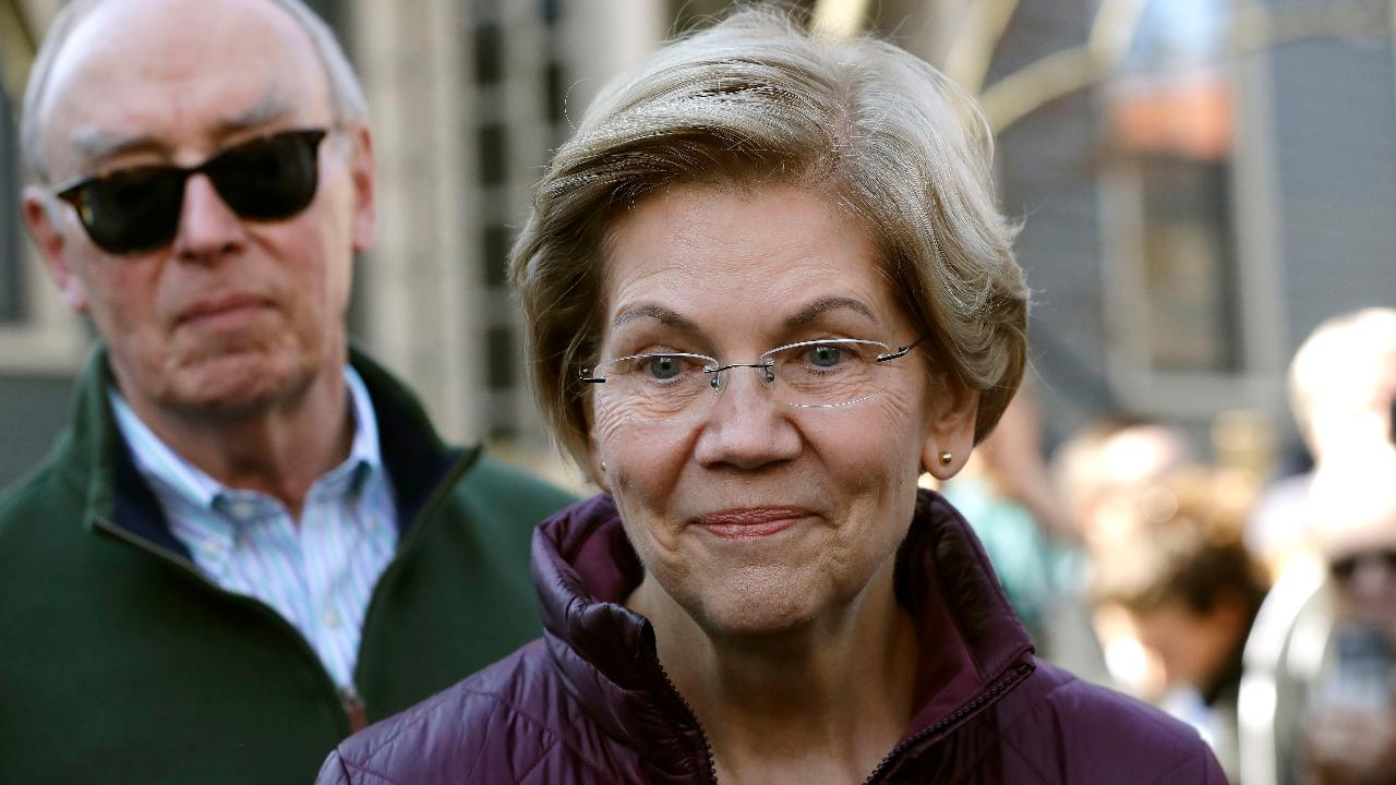 Senator Elizabeth Warren addresses the suspending of her presidential campaign.