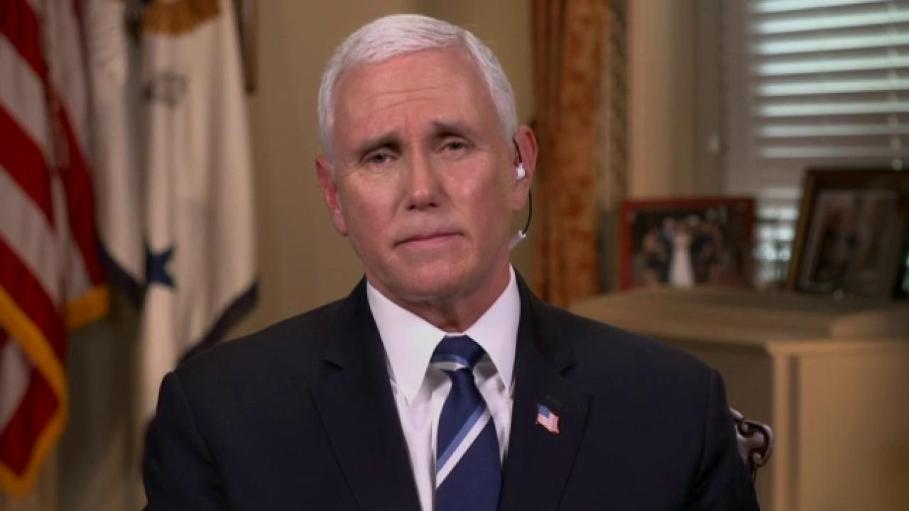 Vice President Mike Pence discusses the timeline for returning to normal routines in the U.S.