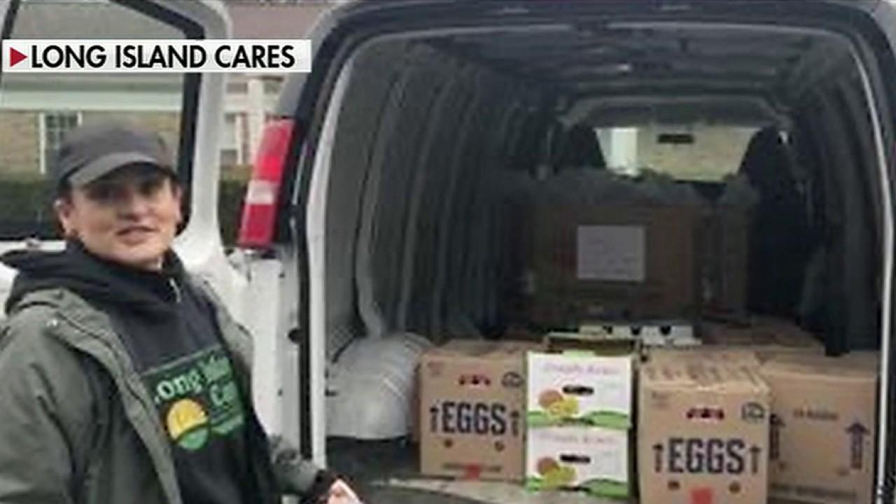 Food bank Long Island Cares CEO Paule Pachter says he's seeing an exodus of volunteers in the midst of the coronavirus pandemic.