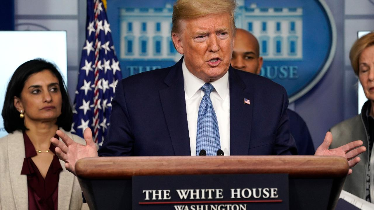 President Trump discusses how long coronavirus should last and if the current situation is new normal.