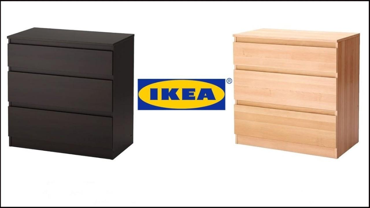 "Ikea has issued a recall on its ""KULLEN"" dresser over concerns it could fall on small children. FOX Business' Cheryl Casone with more."