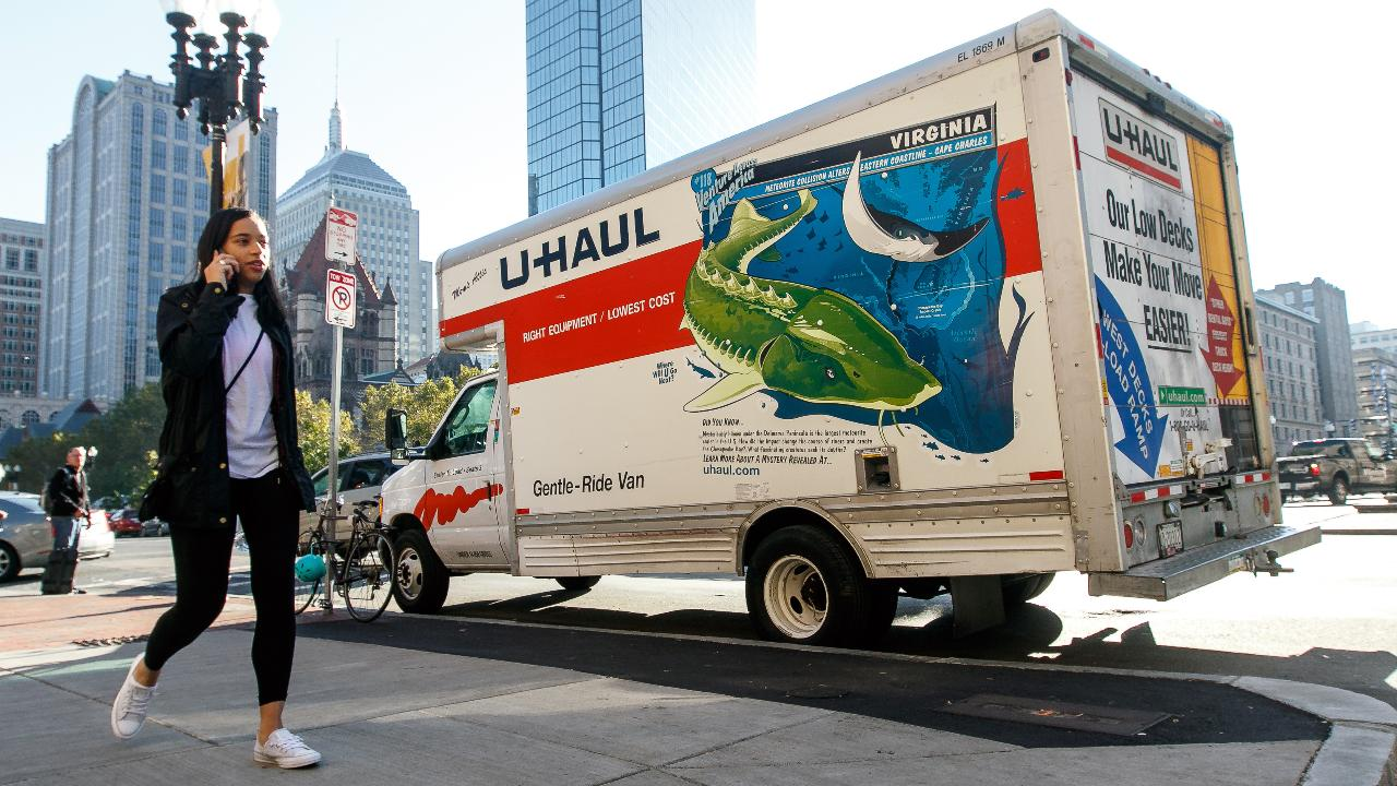 U-Haul board member Stuart Shoen discusses how his company is helping college students move out of their dorm rooms as schools across the United States close.
